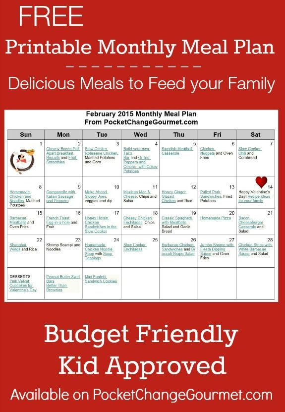 Delicious meals to feed your family in the February ...