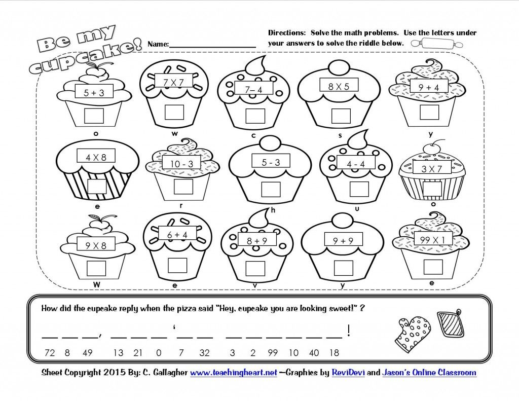 Worksheet Math Riddle Worksheets Grass Fedjp Worksheet