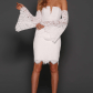 Schwartz white gowns online white gowns and lace dress
