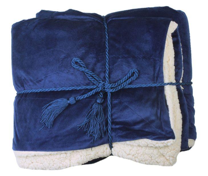 Soft Faux Fur Lambswool Blanket Blanket Fur and Fleece throw