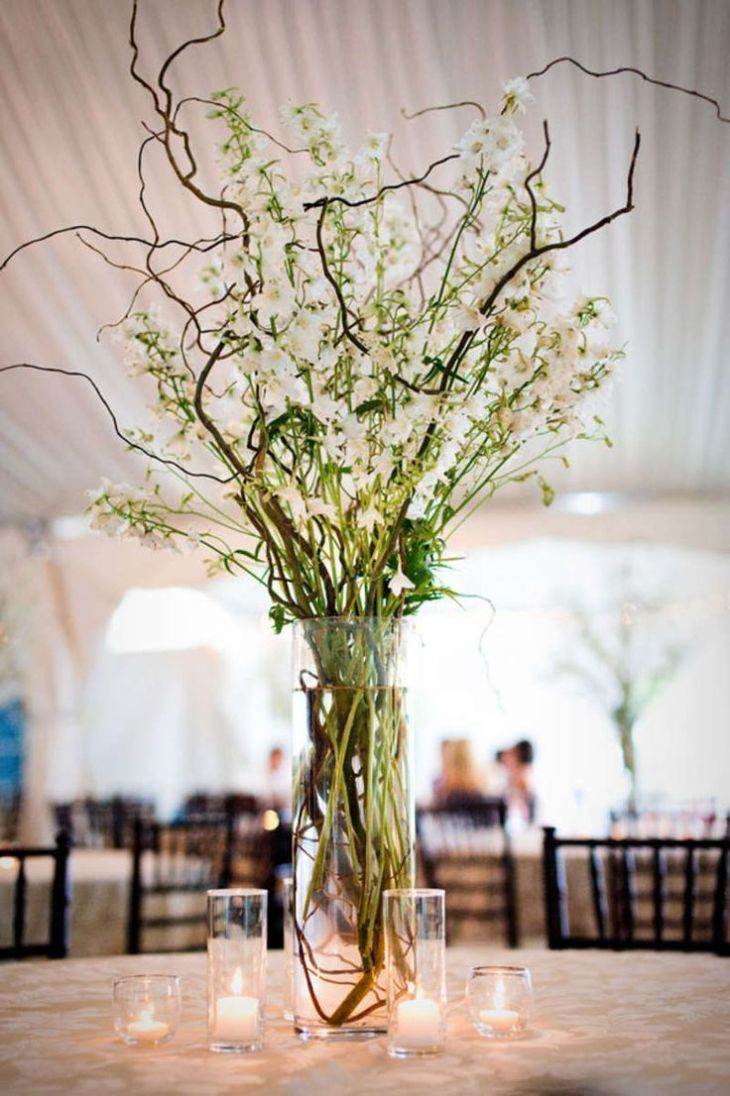 Image result for wedding flowers branches  Wedding  Pinterest