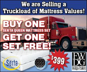 Fwdg Is Offering Serta Perfect Sleeper Star Suite Supreme Queen Sized Mattress Sets One