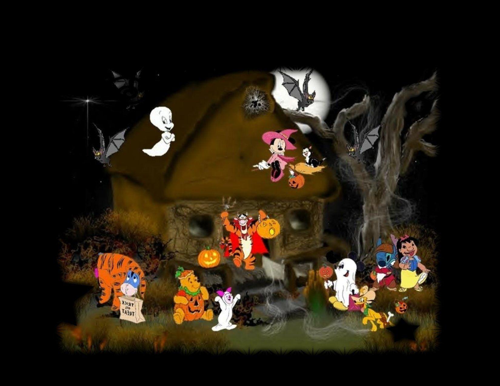 halloween wallpaper backgrounds | disney halloween wallpapers