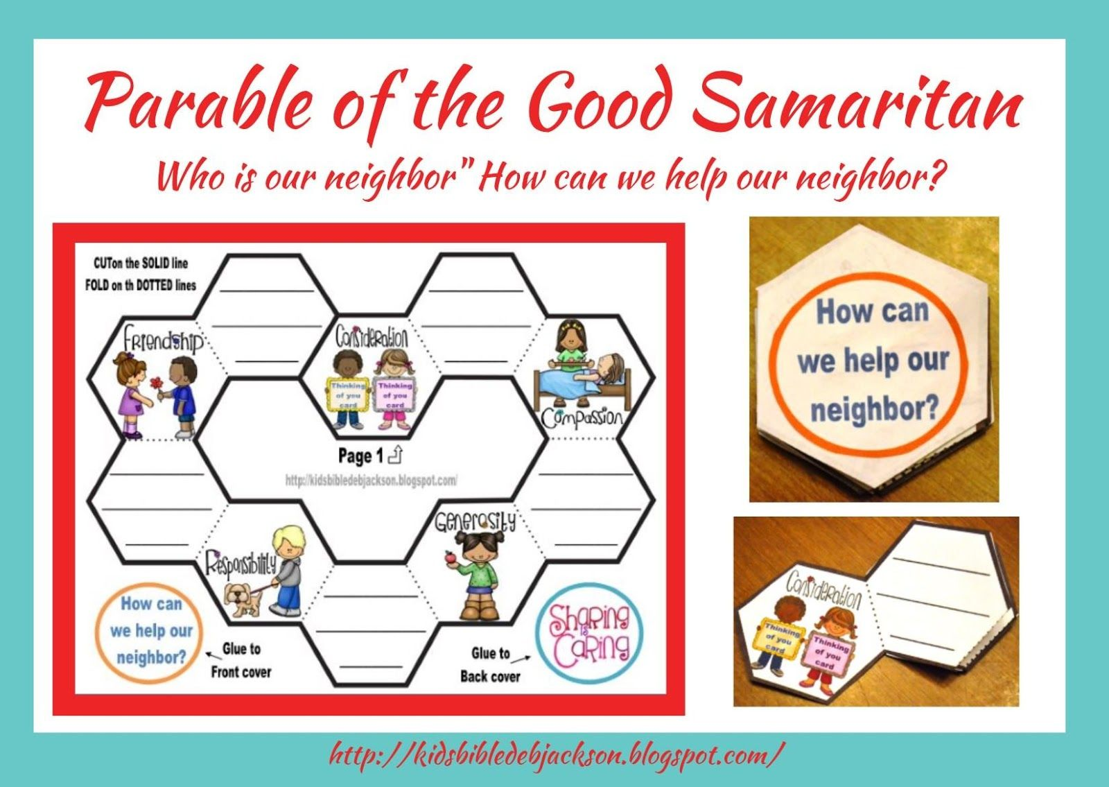 Bible Fun For Kids Parable Of The Good Samaritan