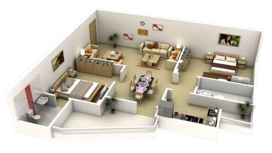 Free 3D floor plan    free lay out design for your house or     Free 3D floor plan    free lay out design for your house or