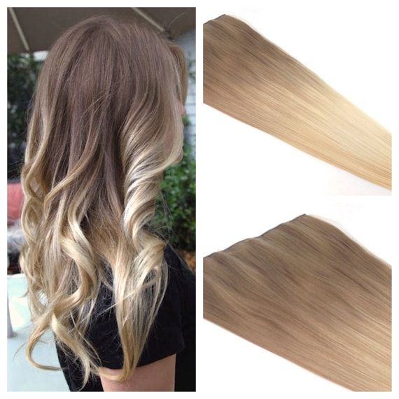 Light brown blonde hair extensions the best blonde hair 2017 natural straight hair clip in on extensions 25 inch 63cm pmusecretfo Images