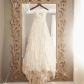 Sweep train white Wedding dress dresses and gowns pinterest
