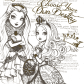 Ever after high ever ather hiy pinterest coloring ever after