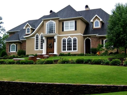 Exterior The Paint Schemes Design To Beautify Your Outer House Immense Of Stay