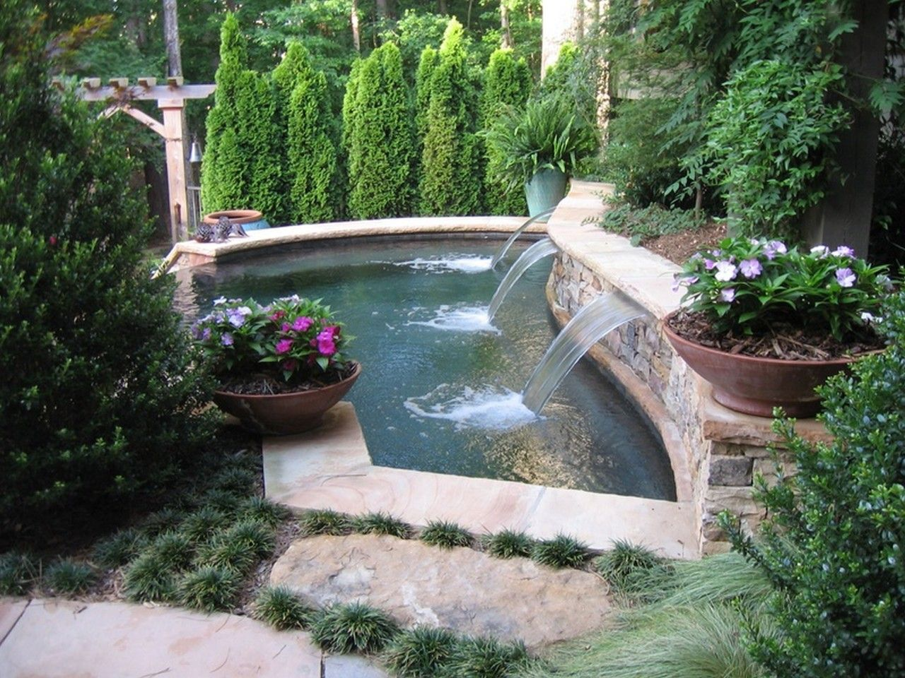 Adorable Landscaping Ideas For Small Backyards Character ... on Cute Small Backyard Ideas id=41226