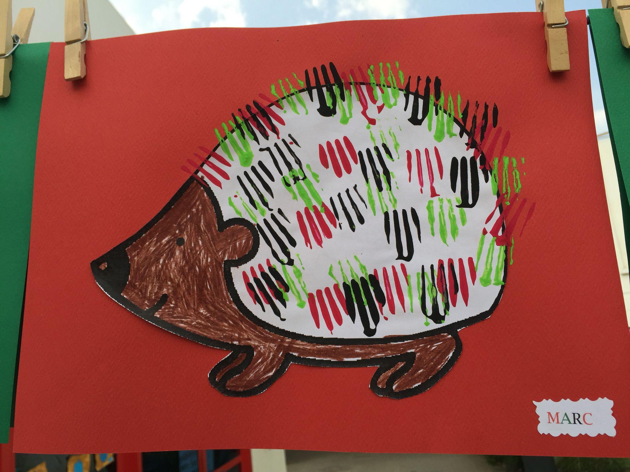 Uae National Day Brandt S Hedgehog Spines Made With Fork