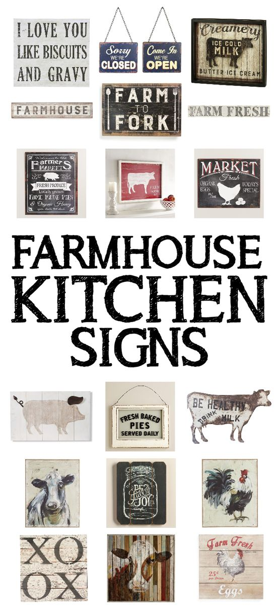 15 farmhouse kitchen signs kitchen signs farmhouse kitchens and gravy on farmhouse kitchen quotes free printable id=80851