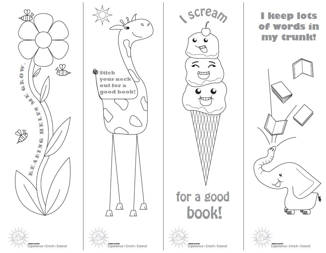 Reading Log Coloring Pages