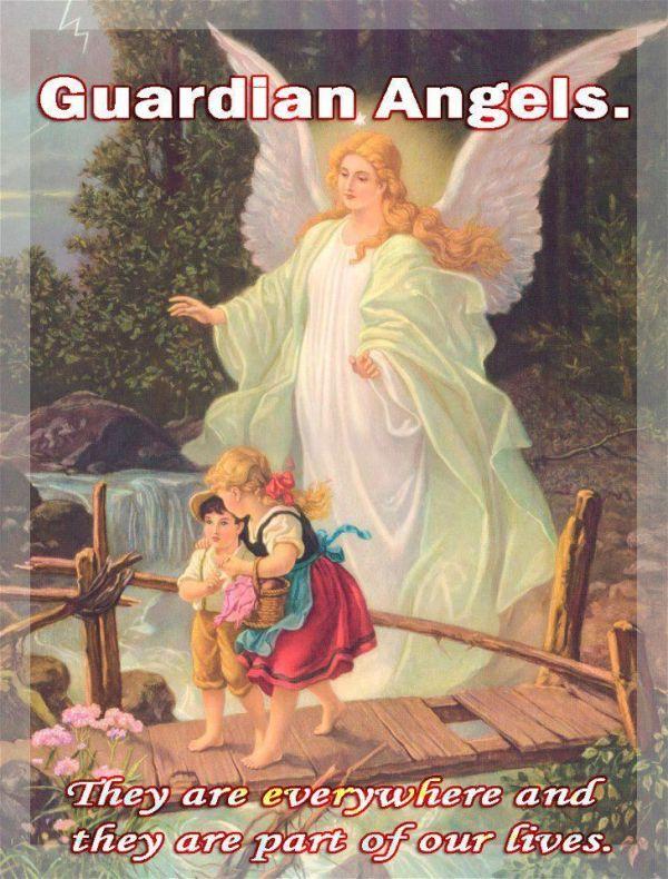 """Angel of God, my Guardian dear, to whom God's love ..."