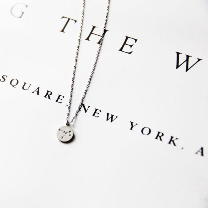 Silver Sagittarius Zodiac Pendant Necklace Cremation Jewelry Ideas