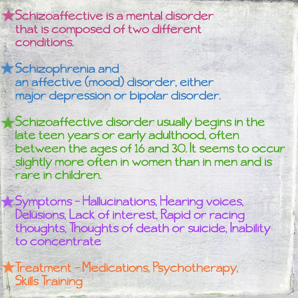 Skittles In The Pit Schizoaffective Disorder Info