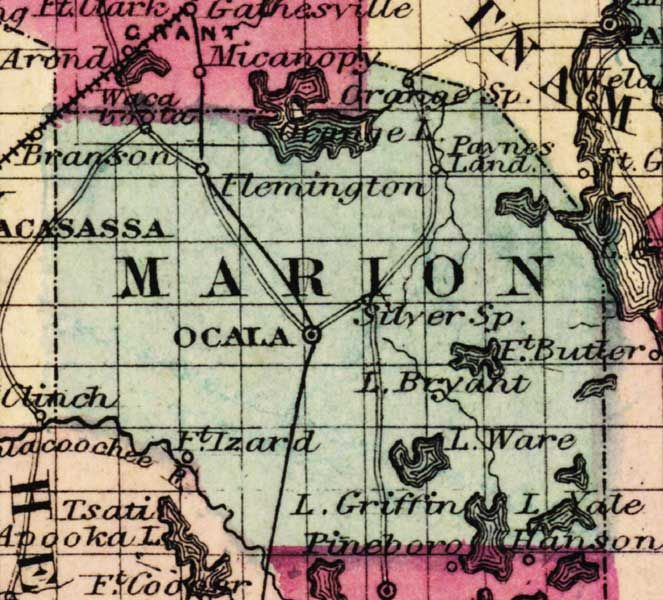 map of marion county florida