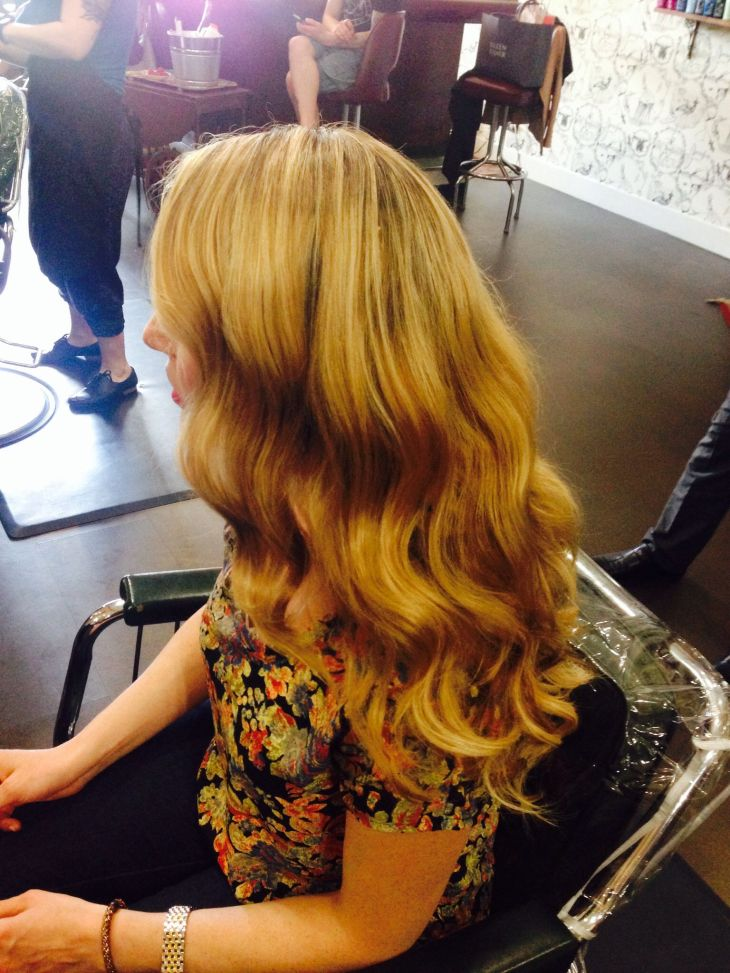 Soft cascading waves for a glamorous look  UpstylingFormal Looks