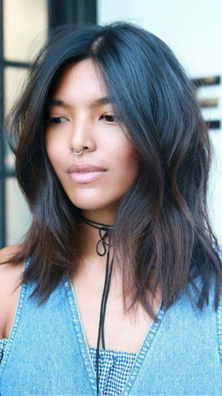 What to ask for A mid length cut with subtle soft layers