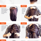 Try this take on the topknot trend a frenchbraided bun