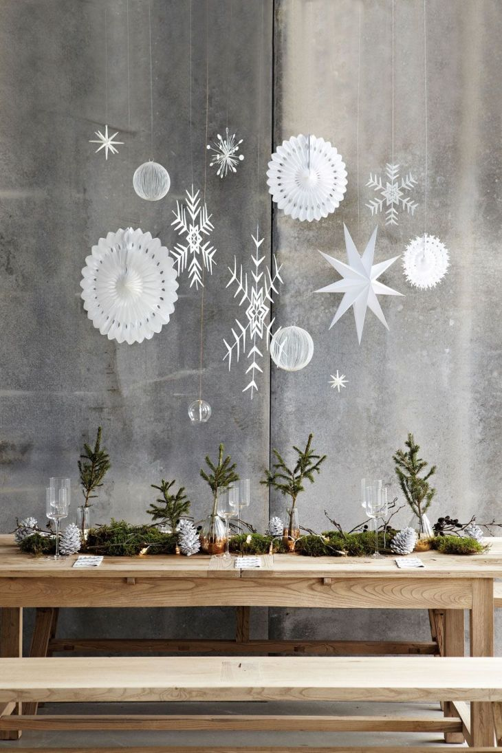 expanded image   Snowflakes u Window Decorations  Pinterest  Merry