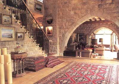 Lebanese Interior Design Style Home Decor Photos Gallery