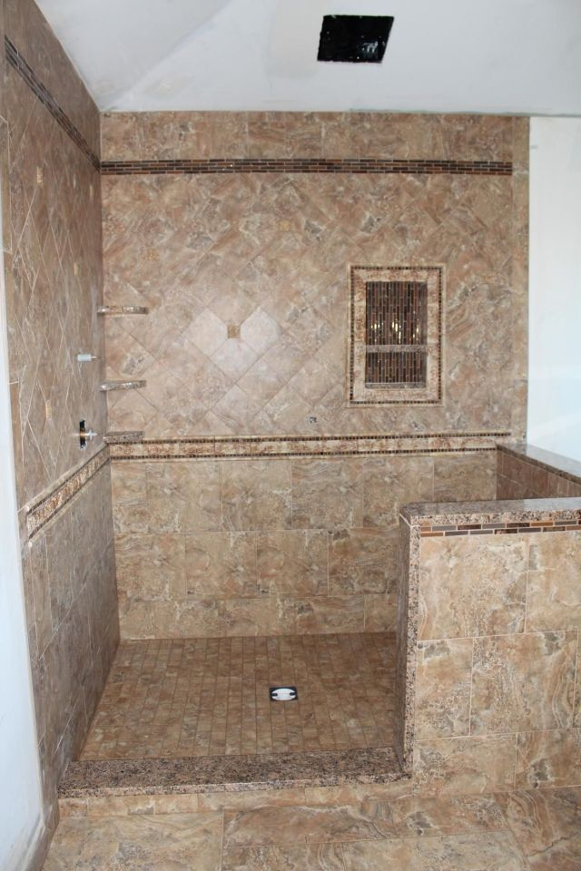 tile shower pictures