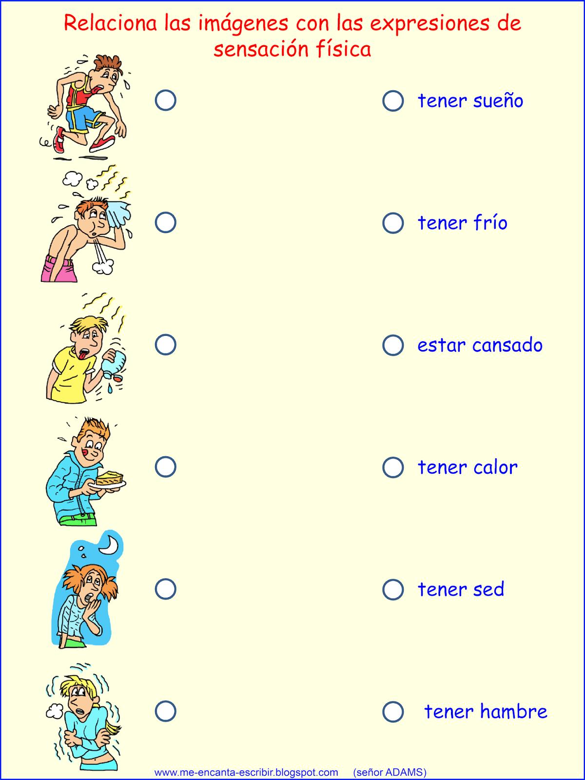 Worksheet Verbo Tener