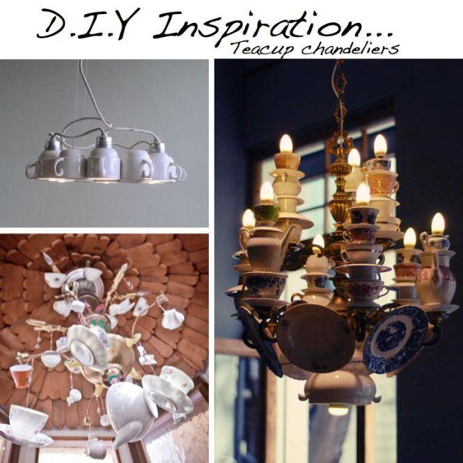 Inspiration Tea Cup Chandeliers