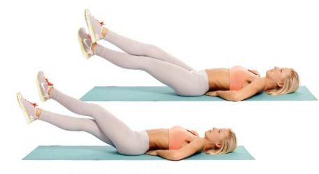 Image result for Scissors Abdominal Exercise