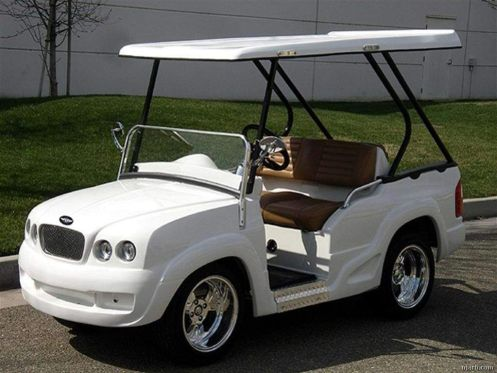 Image result for pimped out golf cart