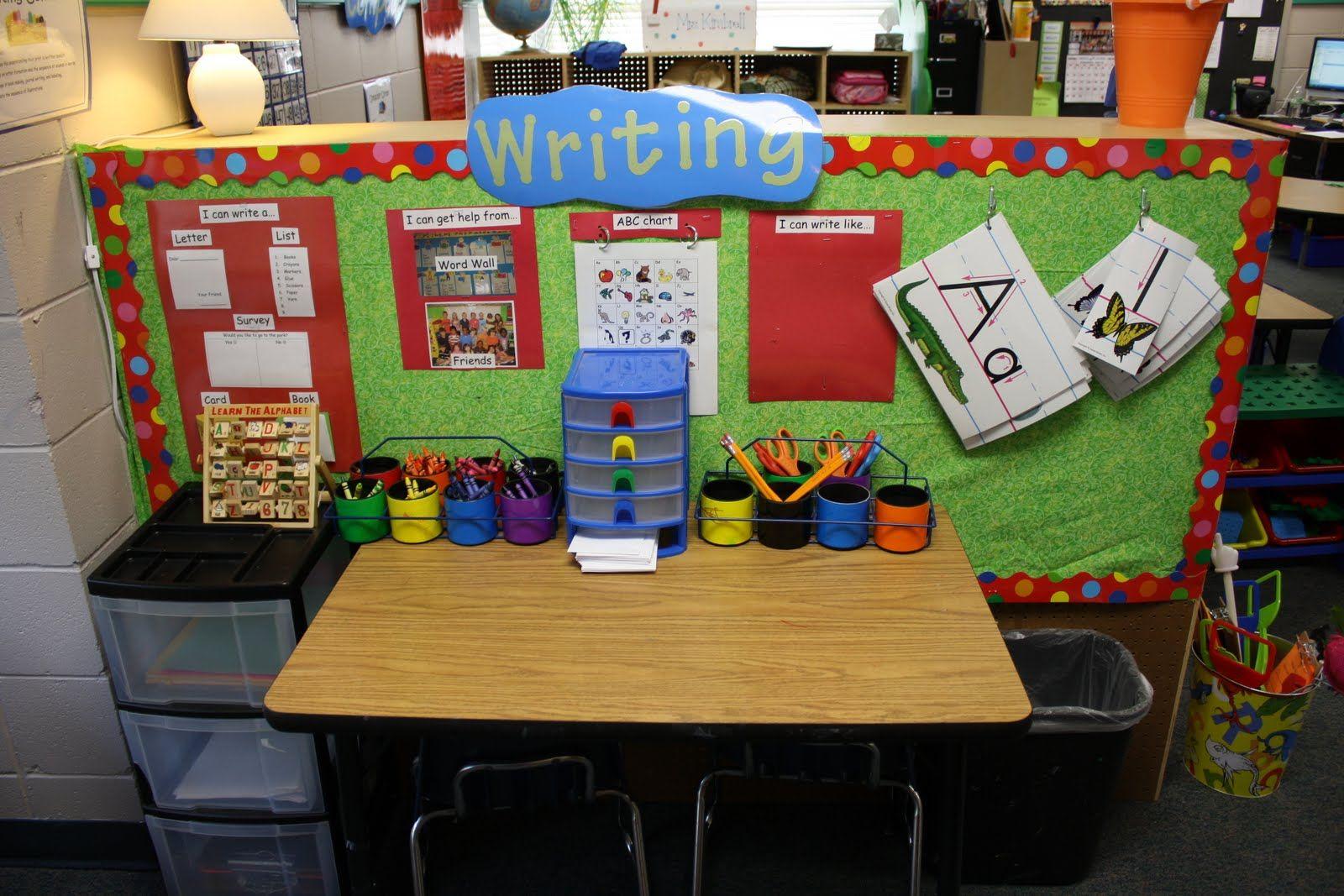 2nd Grade Classroom Centers