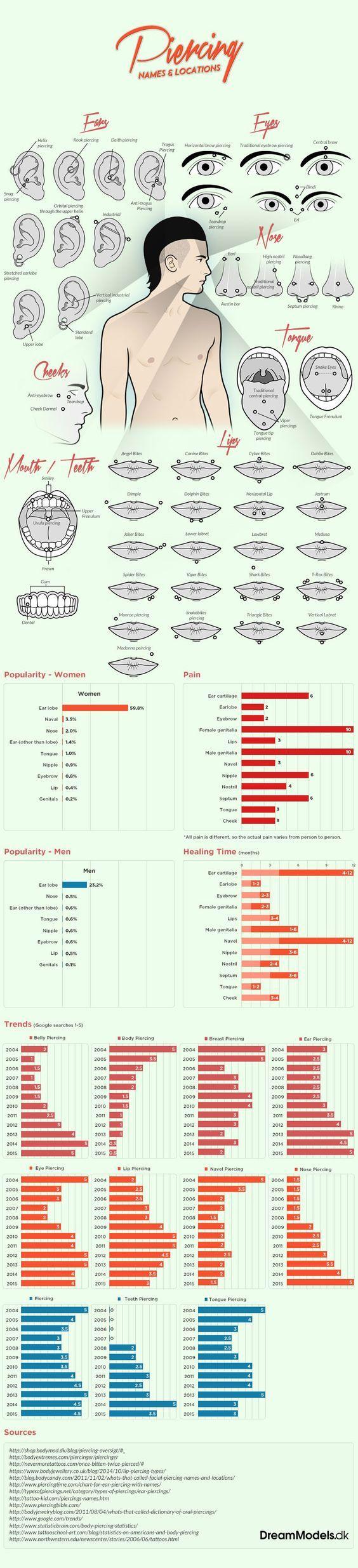 Popular Piercing Ideas For Women To Try  piercing ideer