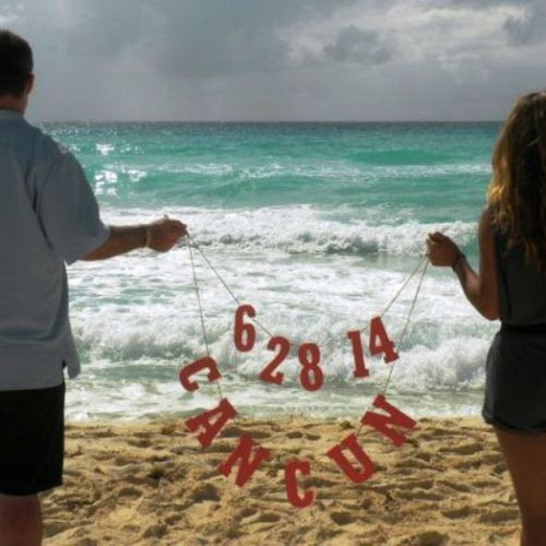 Beach Wedding Save The Date Ideas - unjourmonbebeviendra.com