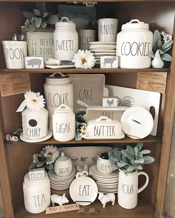 Rae Dunn Display Ideas To Make Beautiful Decor In Your Home