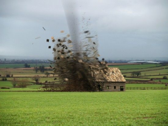 Tornado, moment of impact POWERFULLY JUMP START YOUR ...