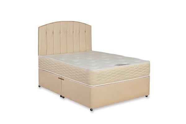 2ft 6 Balm Orthopaedic Small Single Divan Bed Mattress Set
