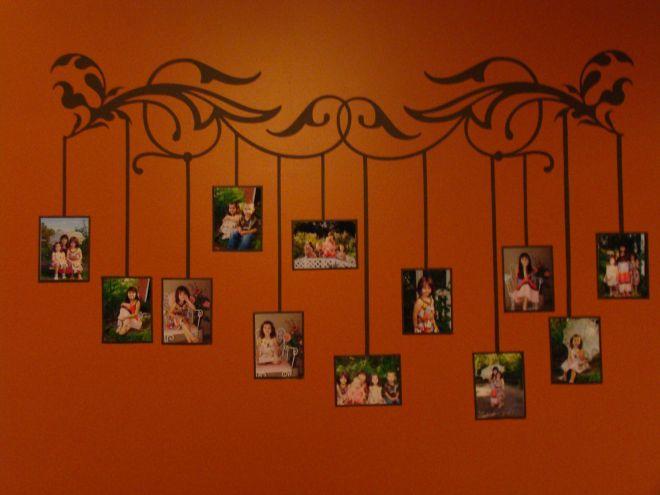 Diy painting alternative family tree wall display