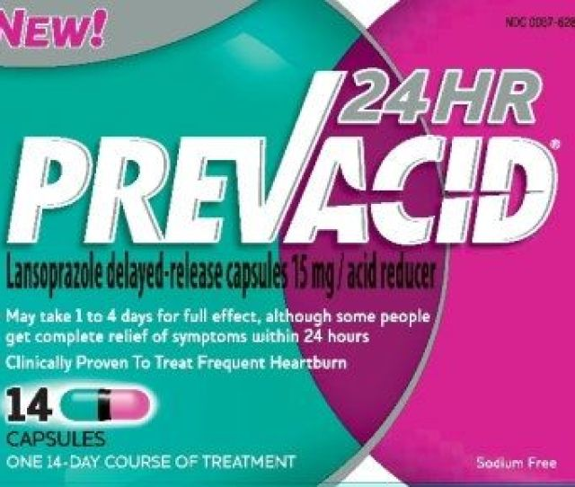 Prevacid  Hour Generic Lansoprazole Is An Over The Counter Medication Used To Treat Frequent Heartburn Or Heartbur
