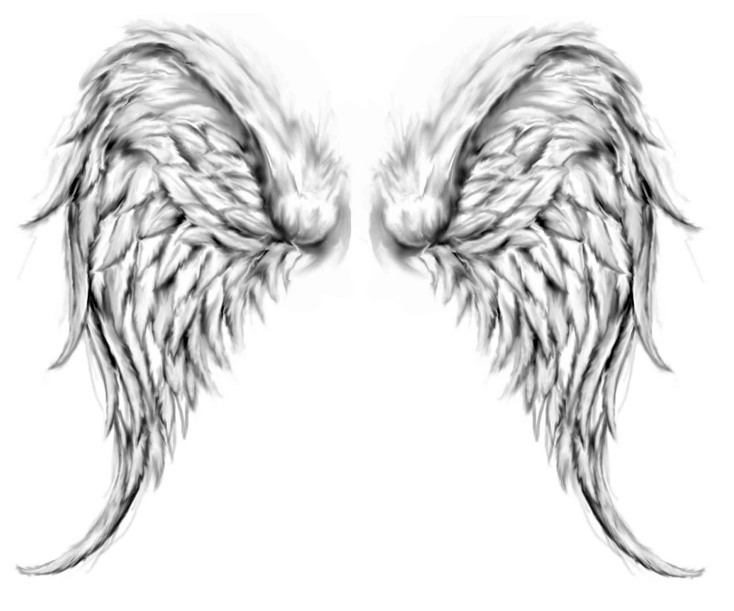 Tattoos Of Angels Wings Cool Tattoos