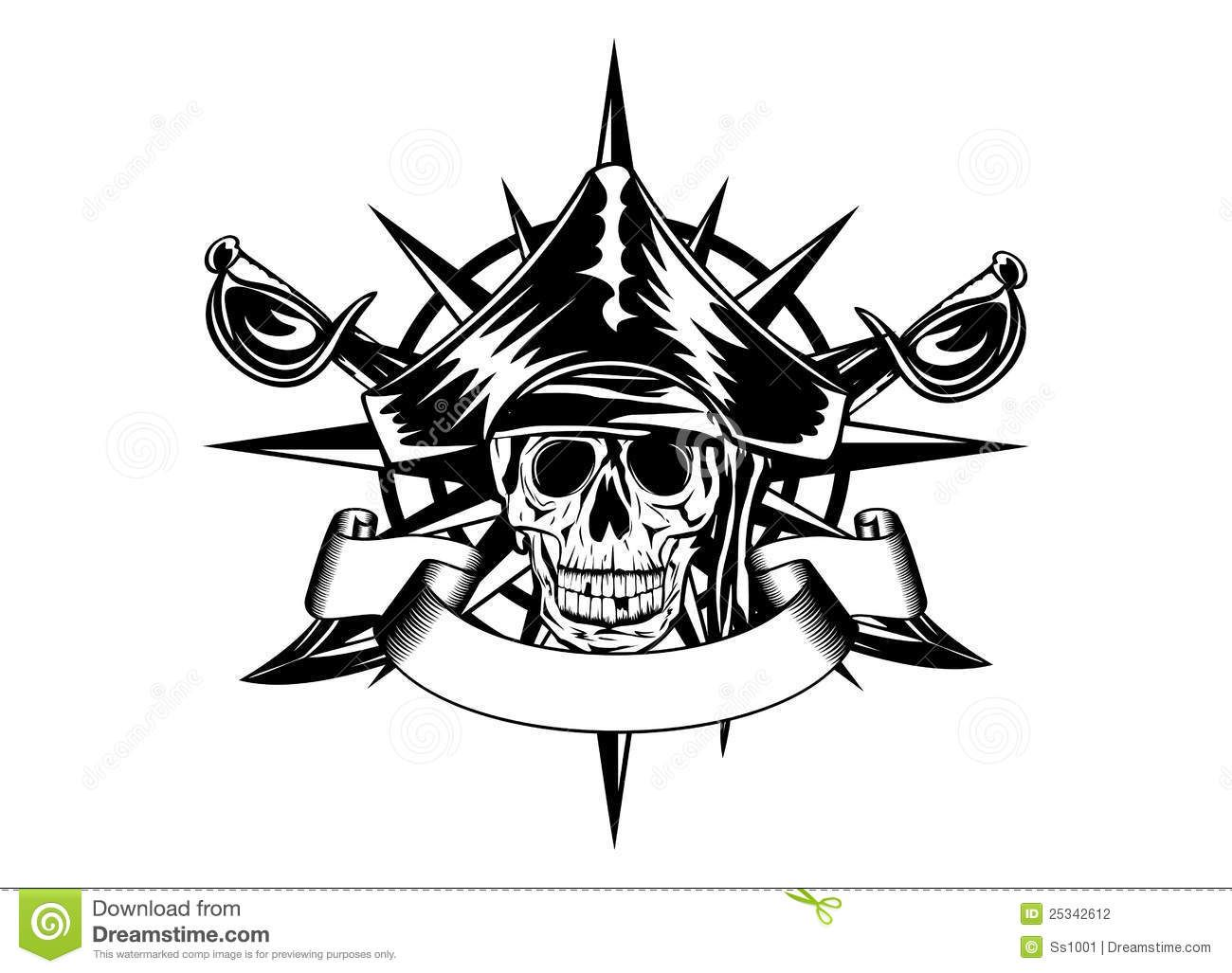 Pirates Of The Caribbean Compass Tattoo