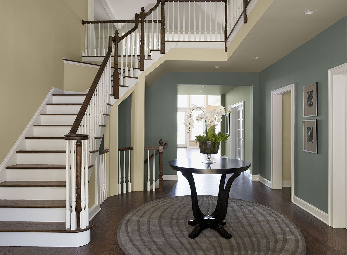 interior paint ideas and inspiration stairway walls on indoor wall paint colors id=36416