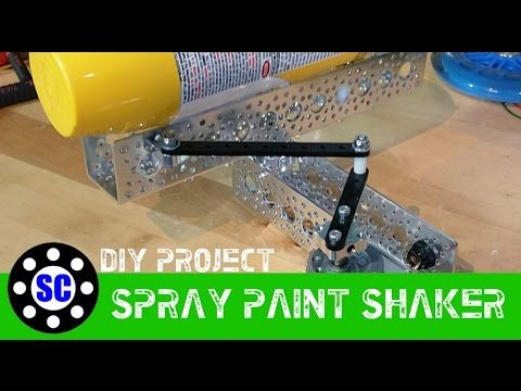 Actobotics Diy Spray Paint Can Shaker Do You Ever Get Tired Of Shaking