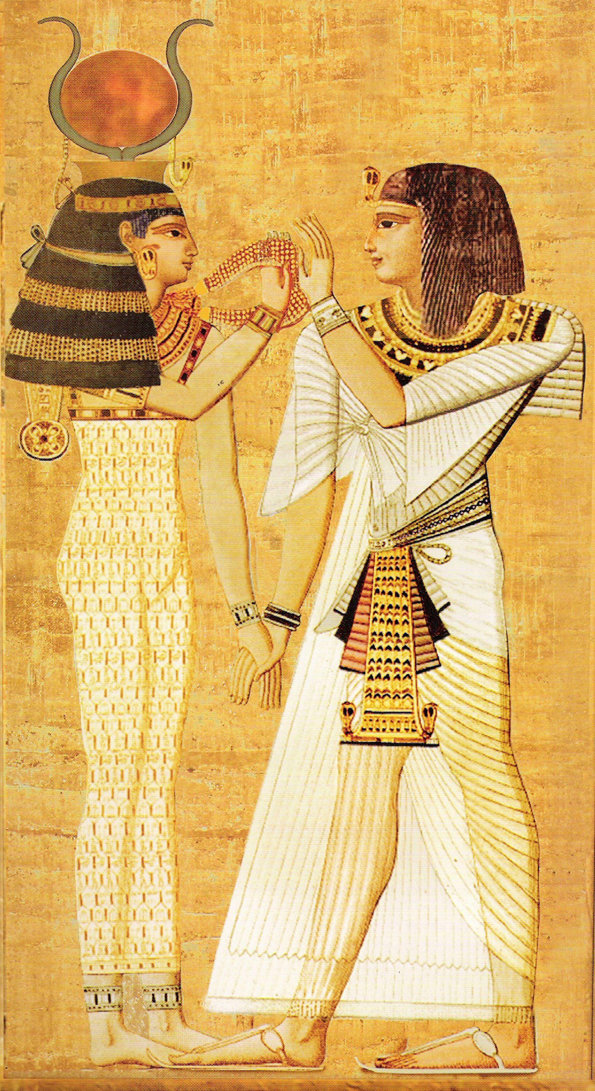 Hathor And Seti