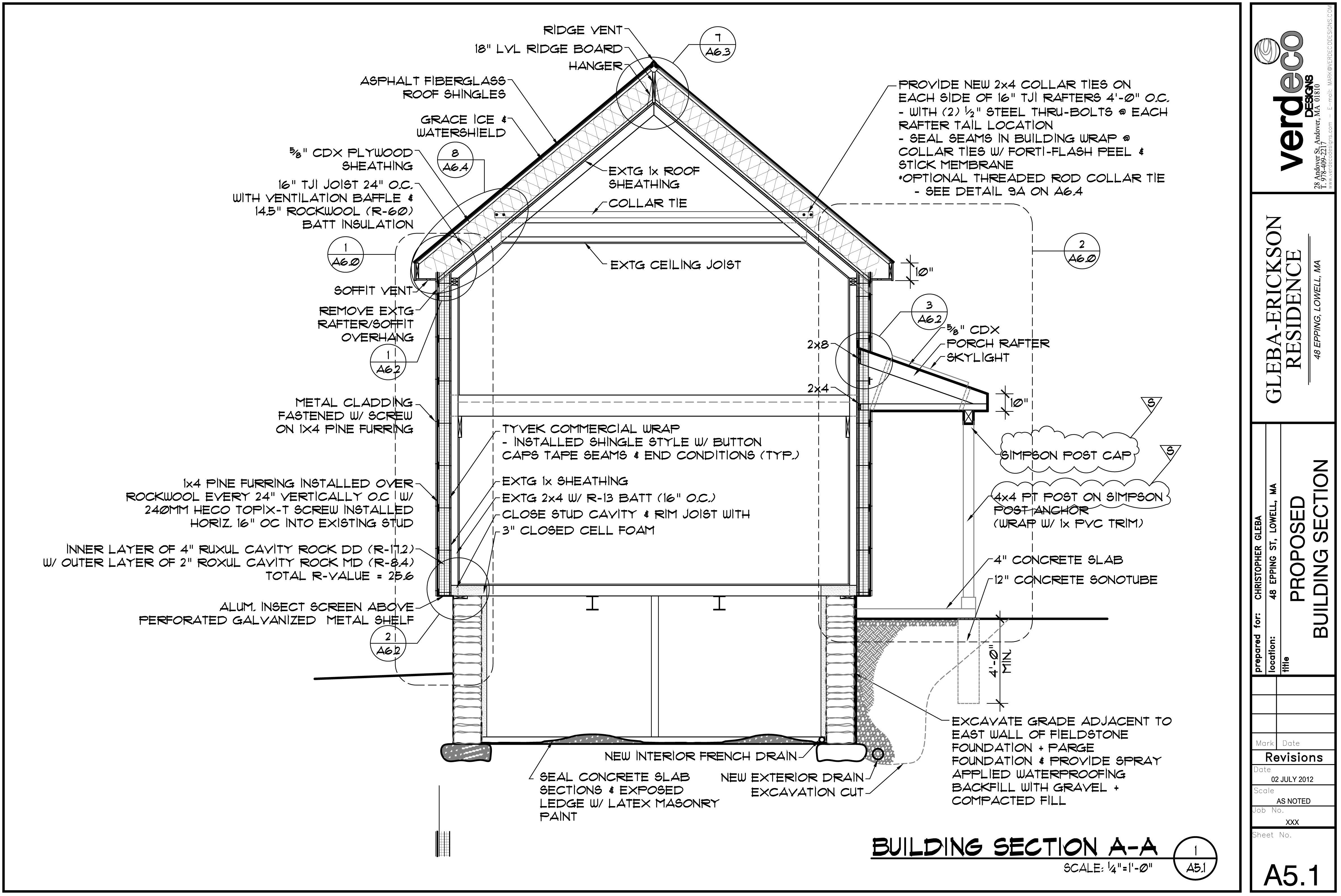 Exterior Insulation Plan