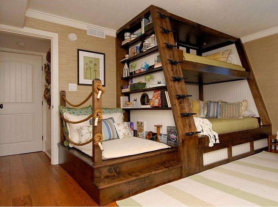 this condo remodel features and innovative double bunk bed on innovative ideas for useful beds with storages how to declutter your bedroom id=66698