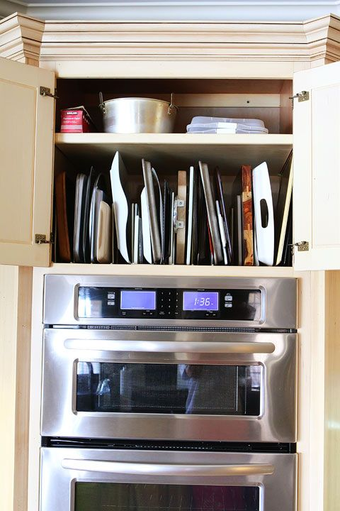 kitchen cabinet pots and pans organization pan storage pan organization and organizing on kitchen organization pots and pans id=23646