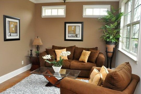 wall colors for small rooms to make it spacious brown on living room color ideas id=86725