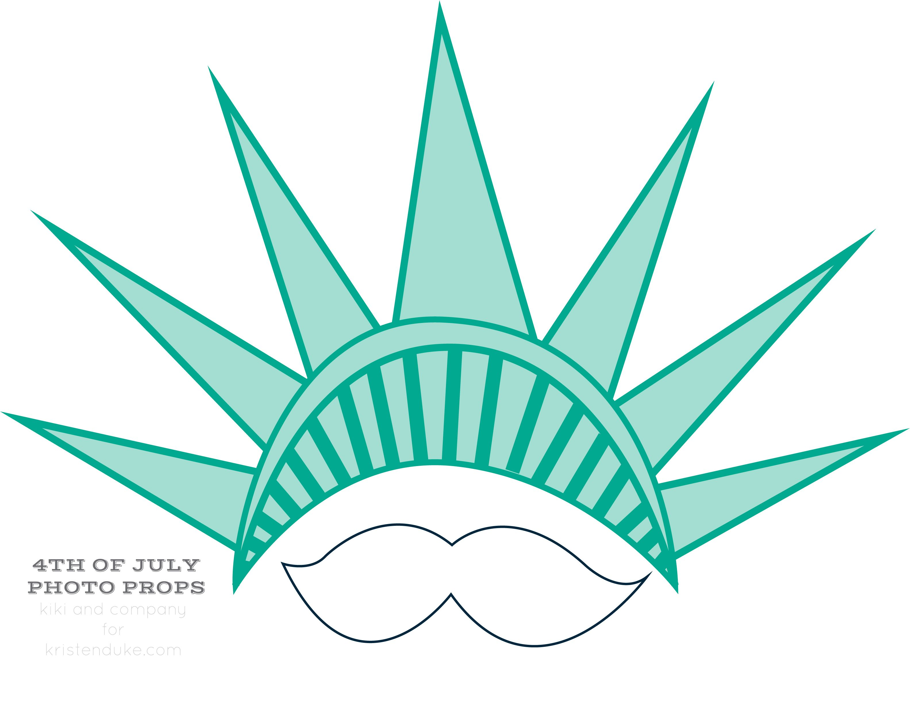 Photo Props Statue Of Liberty Mustache