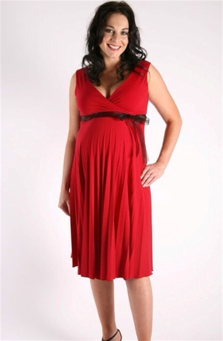 Szabo Cocktail Maternity Dress Click here to buy from Aveta